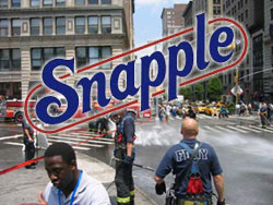 Snapple Makes a Mess in Union Square